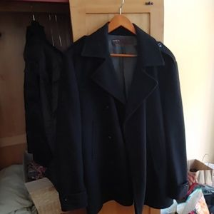 Men's Perry Ellis medium peacoat